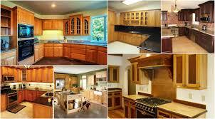 new oak kitchen cabinets design ideas