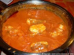 lotte a l armoricaine recette cuisine lotte à l armoricaine allégée une cuisine pour voozenoo