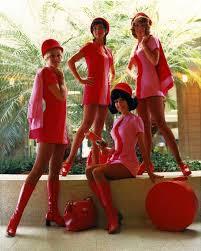 South West Flights by Pacific Southwest Airlines Flight Attendants 1960s Oldschoolcool