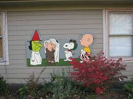 brown and the peanuts yard