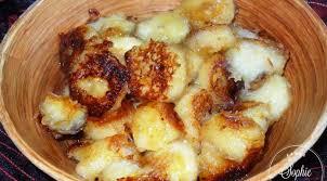 cuisiner des bananes bananes caramélisées au rhum la tendresse en cuisine