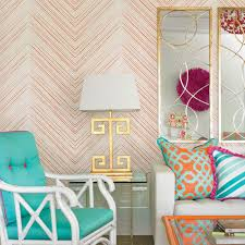 20 Best Removable Wallpapers Peel by Chevron Lines Wallpaper Orange Peel And Stick