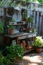 a small space can come to life with the right mix of heights fun objects small space gardeningsmall gardenspotting