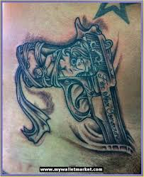 3d gun tattoo design photos pictures and sketches tattoo