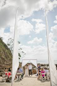 wategos beach wedding ceremony hire stylist