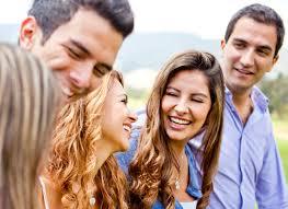 happy of friends talking butterbin