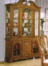 china cabinets online stores china cabinet buffet hutch oak finish