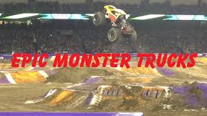 how long does monster truck jam last best of monster jam jumps and crashes compilation youtube