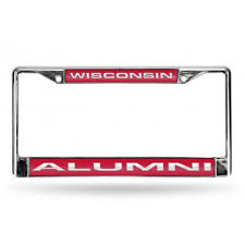 sdsu alumni license plate frame wisconsin badgers