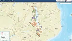 Malawi Map Malawi U0027s New Mining Map Cadastre U2013 Landfolio For Natural Resources
