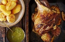 roast leg of lamb with mint roast lamb recipe tesco real food