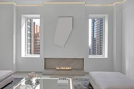 this fidi penthouse is bedecked with turkish marble observer