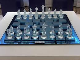 how to set up chess table chess free stock photo a glass chess set 7544