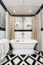 21 bathroom ideas why a classic black and white scheme is always