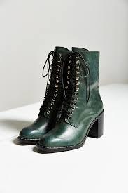 ugg australia caspia boot on sale lyst jeffrey cbell caspian lace up boot in green