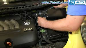 how to install replace maf mass air flow sensor 2001 05 1 8l turbo