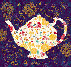 template with teapot royalty free cliparts vectors and stock