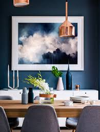 Home Designing Com Kitchen In Blue Deep Blue Kitchens And Cleaning