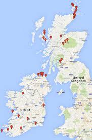 Road Map Of Scotland 1st Roadtrip Scotland Stop Dumbarton Castle