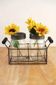Frog Flower Vase Jar Vase With Frog Lid Set Of 2 Jars