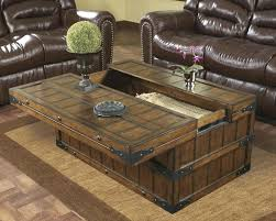 trunk coffee table set wooden trunk coffee table home design