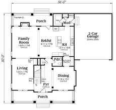 bungalow style house plan 4 beds 2 50 baths 2707 sq ft plan 419 284