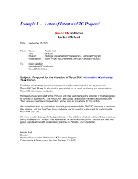 Proper Address Format For Canada by Letter Of Intent Free Letter Of Intent Sample