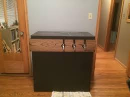 i built a keezer a kegerator made from a freezer rather than a