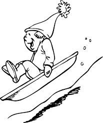 happy winter coloring pages for kids winter coloring pages of
