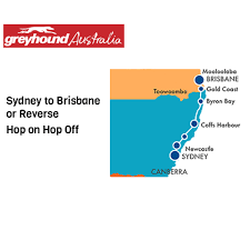 hop on hop sydney australia greyhound pass hop on hop sydney to brisbane