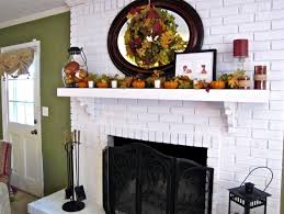 home design white brick fireplace ideas garden landscape