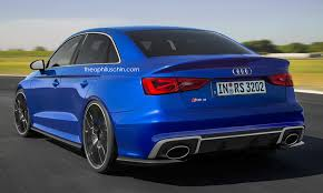 audi rs3 mods audiboost what the 2016 us audi rs3 sedan will look like and its