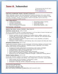 elementary resume template elementary school teaching resume musiccityspiritsandcocktail
