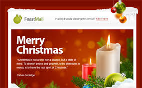 nice happy email newsletter templates christmas moosend