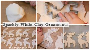 white clay ornaments tutorial the imagination tree