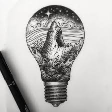 best 25 light bulb drawing ideas on bujo doodles