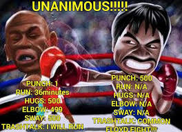 Pacquiao Mayweather Memes - grieving fans cheer selves up with memes ridiculing mayweather s