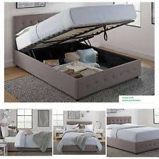 gray beds and bed frames ebay