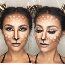 Deer Head Halloween Costume 25 Deer Makeup Ideas Deer Costume Diy
