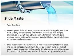 water pipe powerpoint template background subscriptiontemplates com