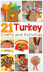 21 adorable turkey craft ideas and activities for turkey