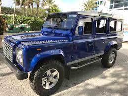 jeep defender for sale 1988 land rover defender for sale classiccars com cc 1048308