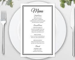 brunch menu etsy