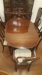 ethan allen dining table set u2013 design consignment