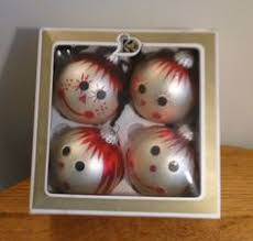 lot vintage wood raggedy andy ornaments kurt adler and misc