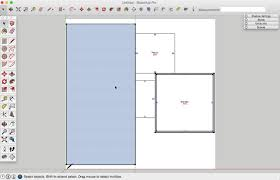 Sketchup Floor Plans How To Draw A Basic 2d Floor Plan From An Image File In Sketchup