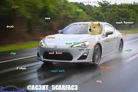 Doge Car Meme - so doge shiberu gt86 wow scion fr s forum subaru brz forum