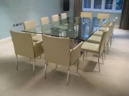 dining room tables that seat 12 or more 12 seater glass dining table futureglass blog for the home