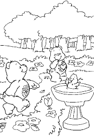 the care bears coloring pages
