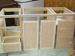 How To Construct Kitchen Cabinets Build Your Own Vanity Cabinet Home Design